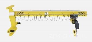 кран консольный настенный передвижной