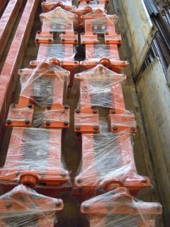 Концевые балки, Кранов мостовых электрических однобалочных. Отгрузка