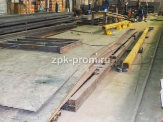 Заготовительный участок на производстве грузоподъемного оборудования