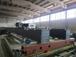 Процесс производства мостового крана, комплектация SWF (Германия)