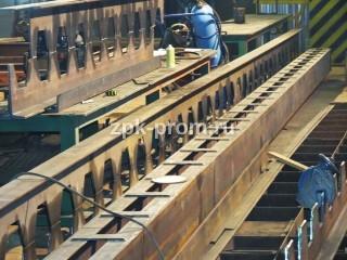 Производство кранов мостовых однобалочных