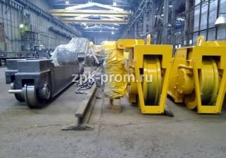 Концевые балки для двухбалочного крана г/п 50 тн.