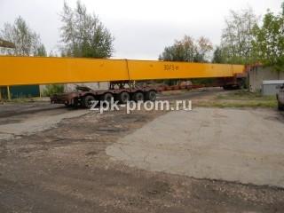 Отгрузка Кран мостовой двухбалочный пролет 28,5 м.